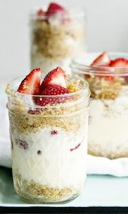 Strawberry Ice Cream Wallpaper - náhled