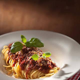 Attila's Spaghetti Bolognese.