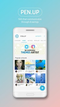 PEN.UP - Share your drawings APK screenshot thumbnail 1