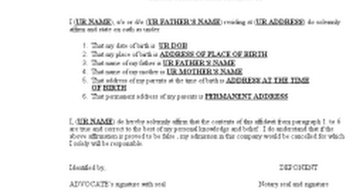 Birth certificate affidavitc google docs yadclub Image collections
