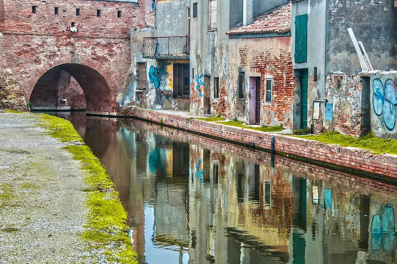 Comacchio in street art di Scaletta