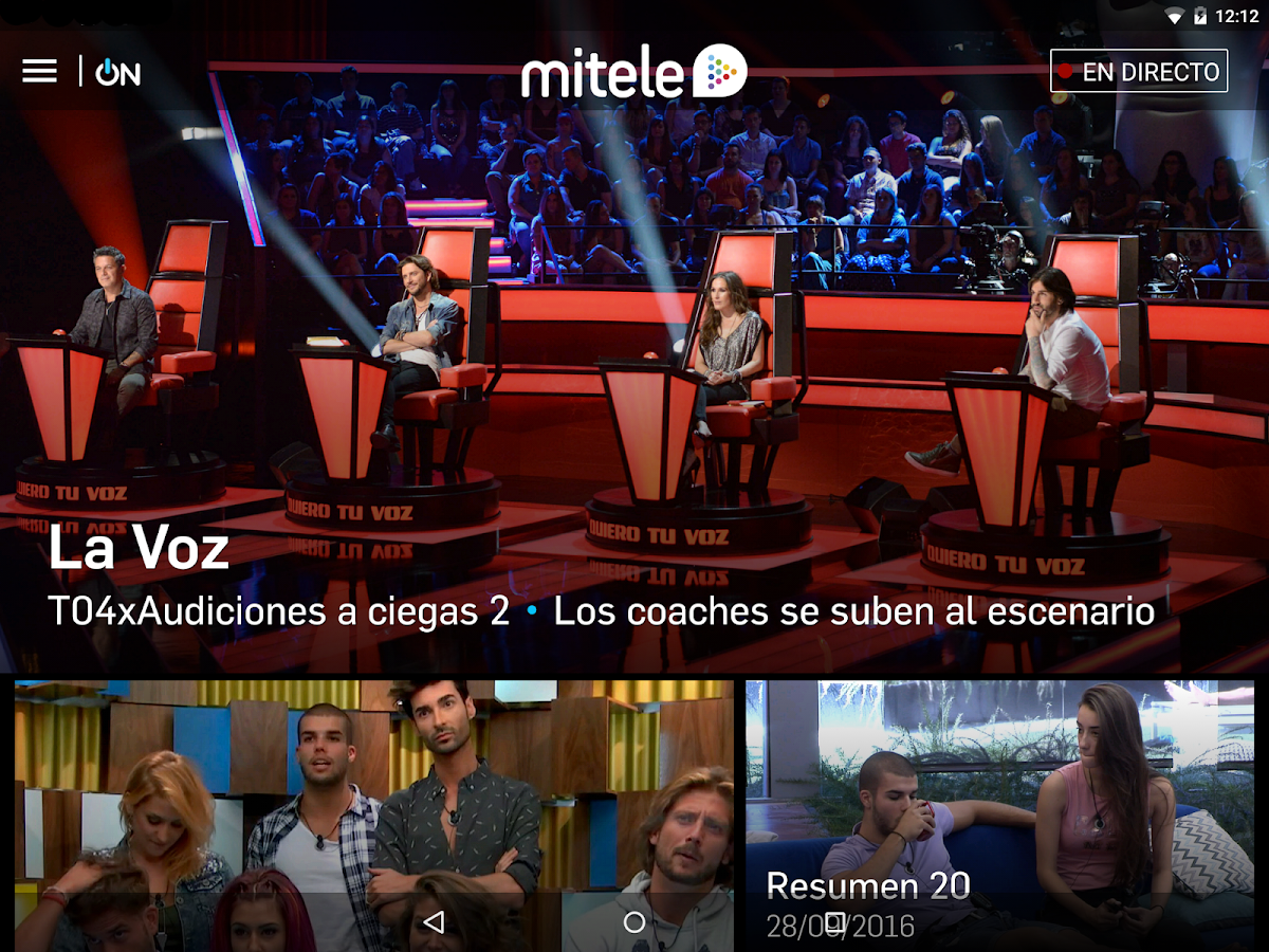 Mitele - Mediaset Spain VOD TV- screenshot