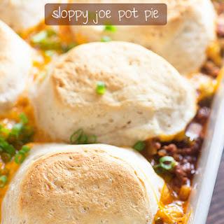 Sloppy Joe Pot Pie Recipe