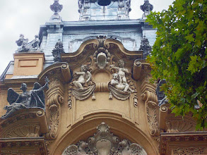 Photo: Grupa budynków historycznych, Vajdahunyad-vár w Parku Miejskim w Budapeszcie, kopia pałacu Marii Teresy (14)