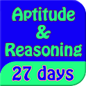 aptitude & reasoning in 27days icon
