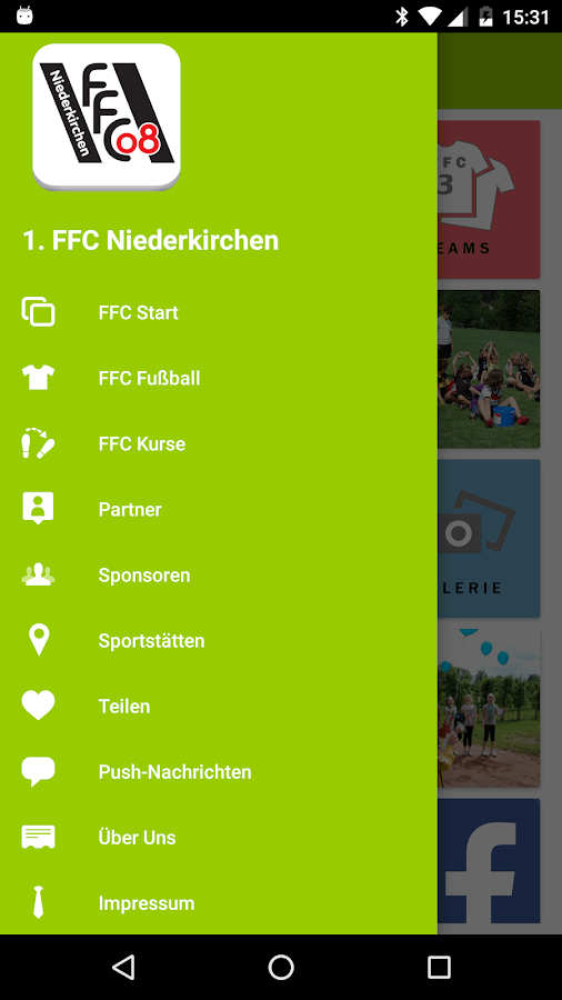 1. FFC Niederkirchen – Screenshot
