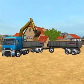 экстремальный грузовик: песок