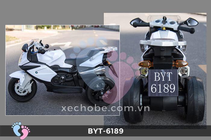 Xe mô tô điện 3 bánh BYT-6189 8