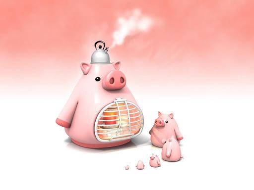 Little Pig Pack 2 Wallpaper