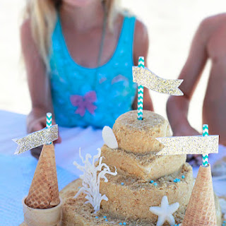 Sandcastle Cake.