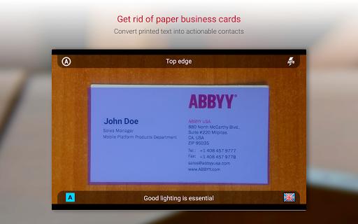 Business Card Reader Pro - Business Card Scanner  screenshots 6