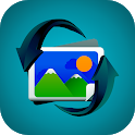 Recover deleted pictures - Restore deleted photos icon