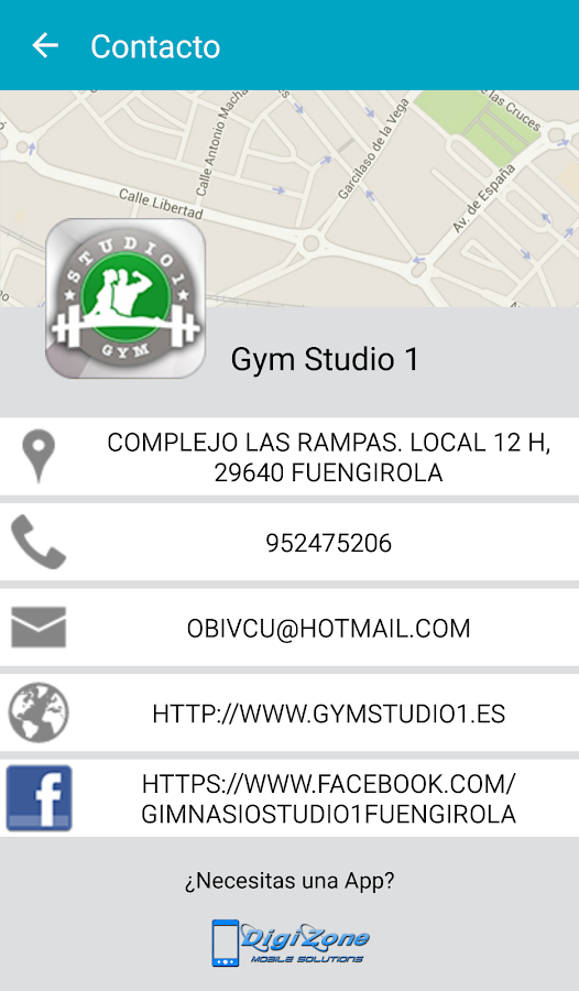 Gym Studio1- screenshot