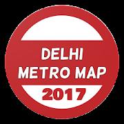 Delhi metro map new 2017