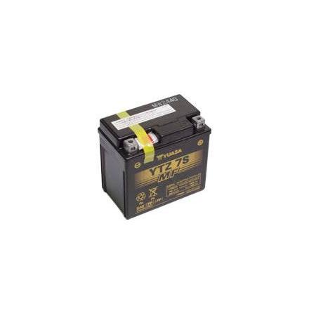 YUASA MC batteri YTZ7S-BS lxbxh=113x70x105mm