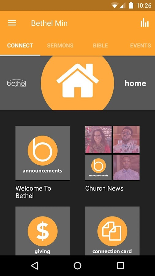 Bethel Ministries Inc.- screenshot