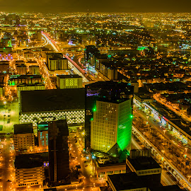 night  , phoyohtsphy, lihgtd trwvr., awsome by Rahul Trivedi - City,  Street & Park  Night ( cityscapes,  )