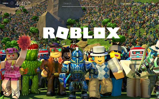 Roblox Game Wallpapers FullHD New Tab