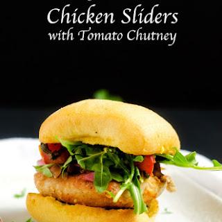 Chicken Sliders with Tomato Chutney Recipe