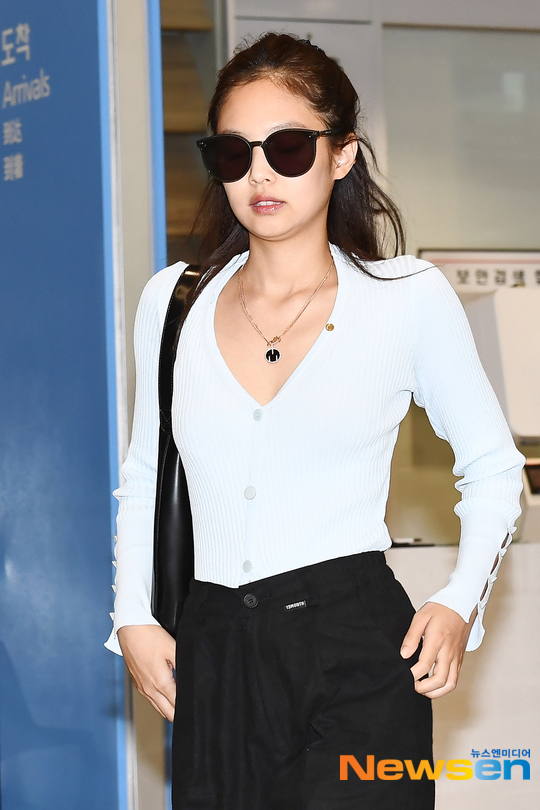jennie airport luxurious beauty 1