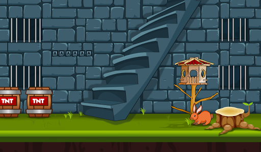 Blue Castle Escape screenshot 2