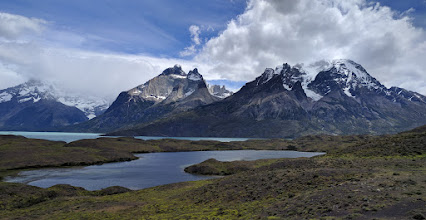 Photo: Torres del Paine National Park, one of the few corners of Patagonia's vast wilderness with enough infrastructure to support casual trekking. Stitched panorama from two Nexus 6P HDR+ mode shots.