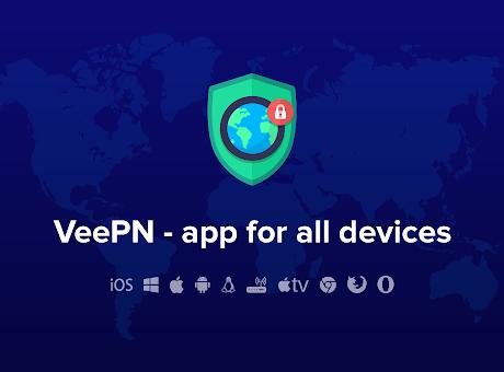 Free VPN for Chrome - VPN Proxy VeePN
