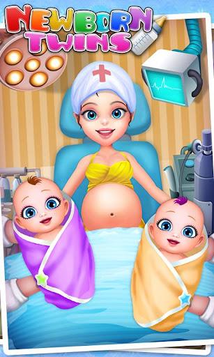 新生双子ベビーケア - 子供向けゲーム & 赤ちゃん