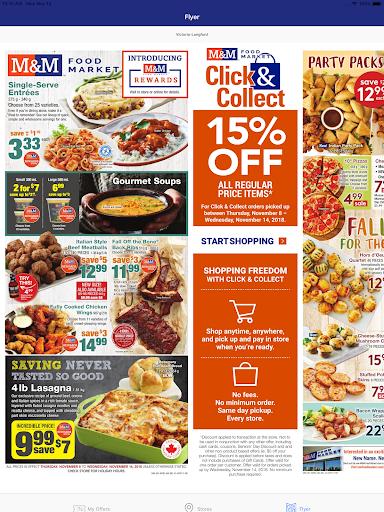 M&M Food Market Applications (apk) téléchargement gratuit pour Android/PC/Windows screenshot
