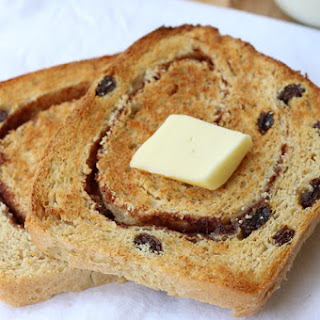 Homemade Cinnamon Raisin Bread Recipe - Easy!