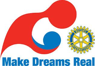 Photo: Make Dreams Real 2008-2009 Rotary Year Theme