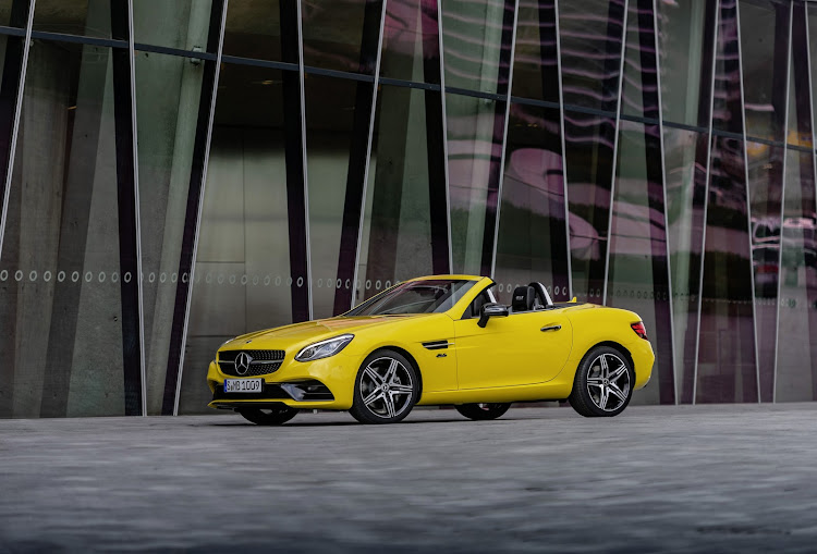 Mercedes SC (formerly the SLK) is being discontinued, with no successor planned. Picture: SUPPLIED