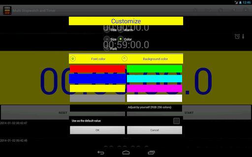Multi Stopwatch and Timer Pro screenshot 17