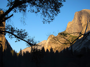 Photo: Half Dome at dusk - from meadow #2716-600
