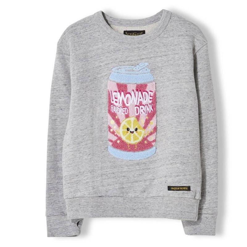 Sweater Violetta Heather Cloud Soda
