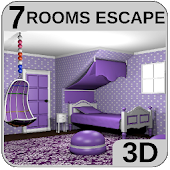 3D Escape Games-Puzzle Bedroom 5