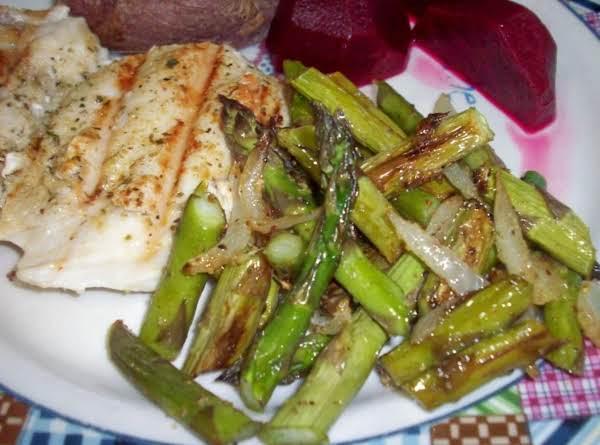 Peggi's Roasted Asparagus Recipe