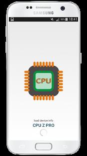 CPU Z Pro & Hardware Info 2018 - náhled