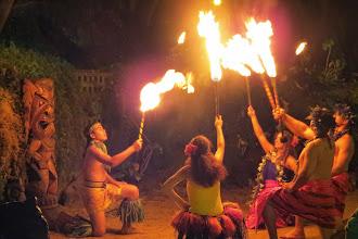 Photo: Luau - Polynesian show