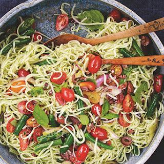 Mediterranean Rice Noodles.