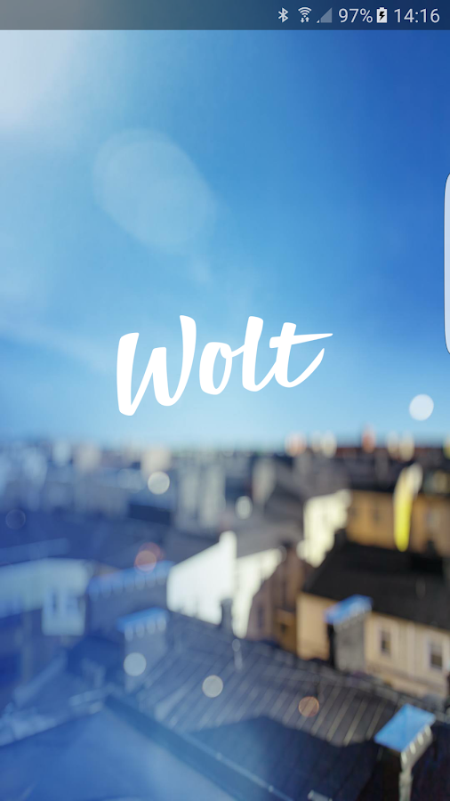 Wolt- screenshot