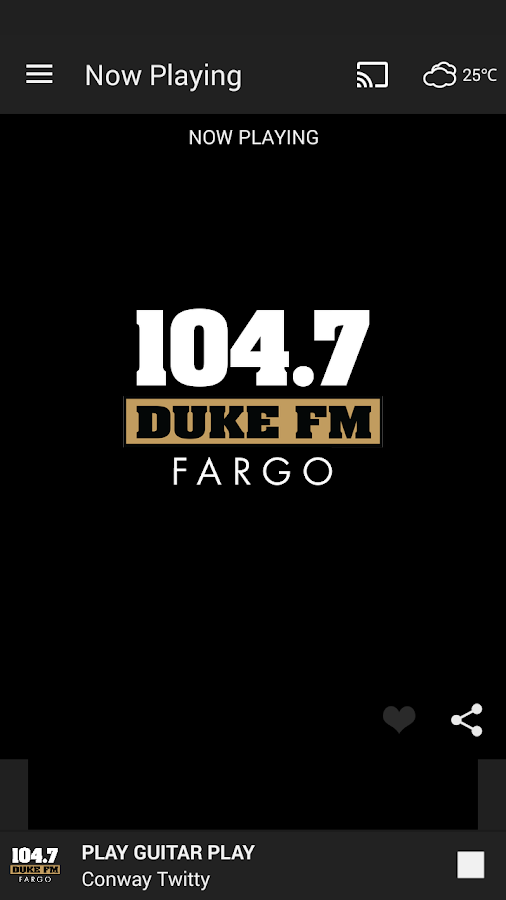 104.7 DUKE FM (FARGO)- screenshot