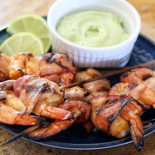 Bacon Wrapped Chipotle Shrimp Kabobs Recipe