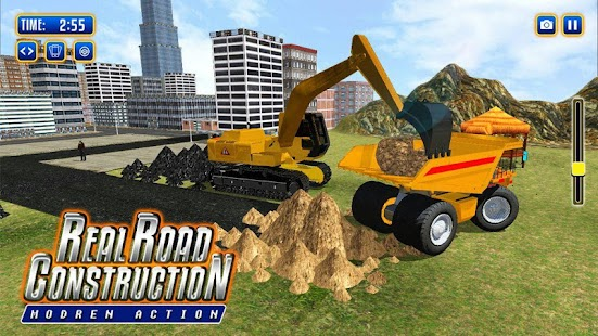 Road Construction Games Free 2018 - náhled