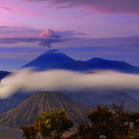 nafas bromo by Fahmi Setyawan - Landscapes Mountains & Hills ( east java, bromo, relax, tranquil, relaxing, tranquility )
