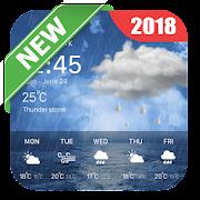 Weather Offline & Clock Widget 2018