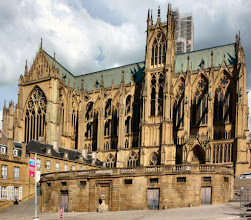 Photo: Die Kathedrale zu Metz Département Moselle France