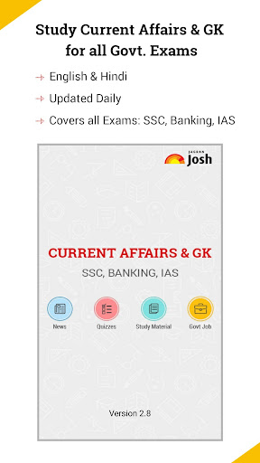 Latest Current Affairs & GK in English & Hindi 4.04 screenshots 1
