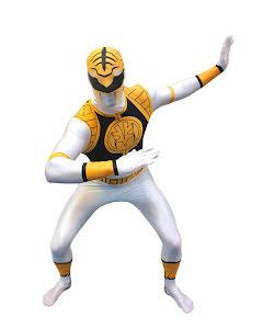 Morphsuit Power Rangers, vit