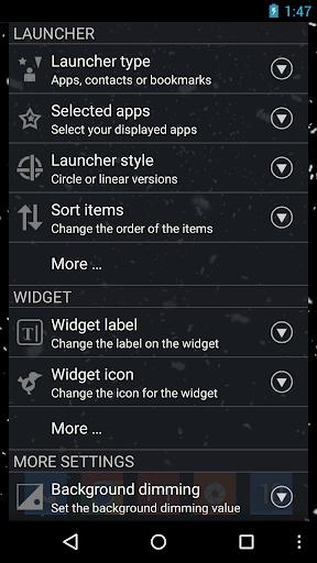 CircleLauncher light screenshot 6
